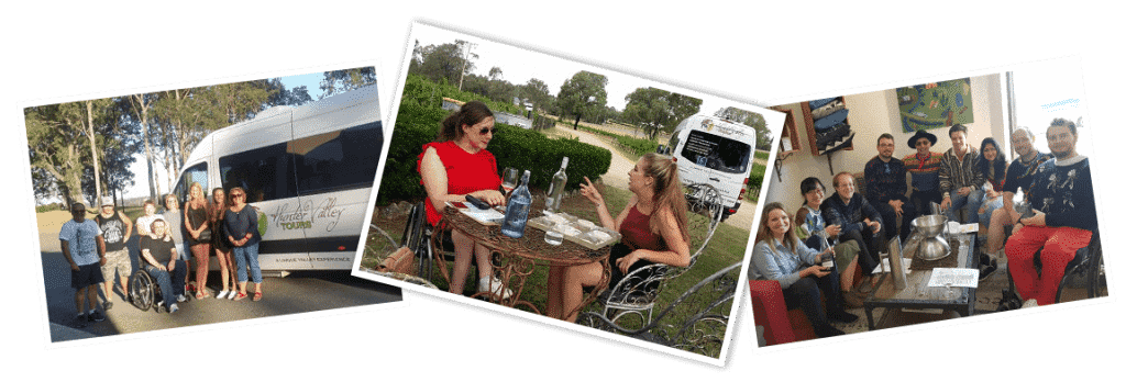Accessible Tour, Hunter Valley Tours