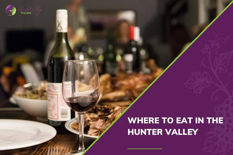 Where to eat in the Hunter Valley