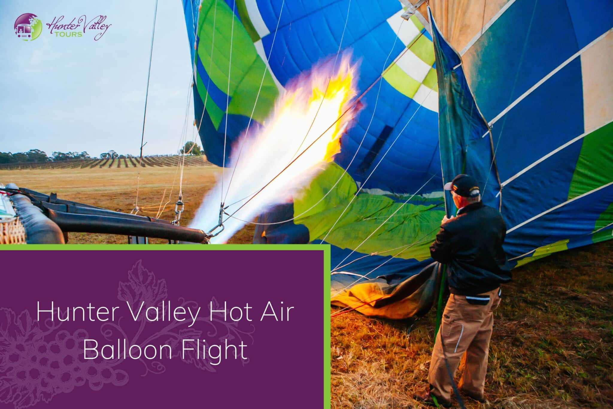 Hunter Valley Hot Air Balloon Flight