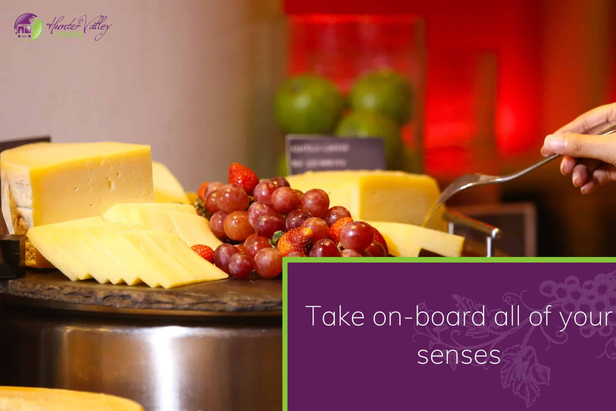 Take on-board all of your senses