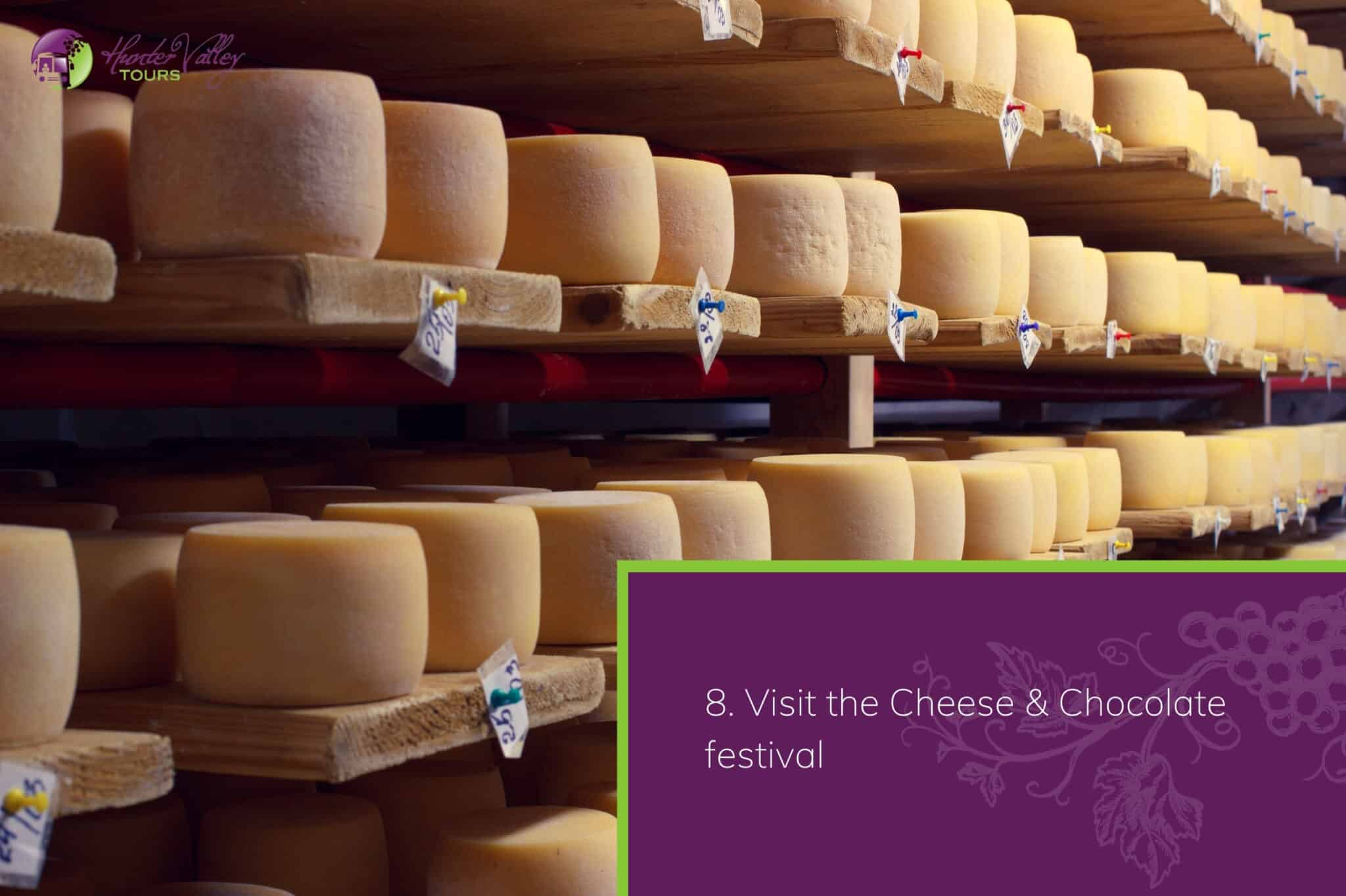 Visit the Cheese & Chocolate festival
