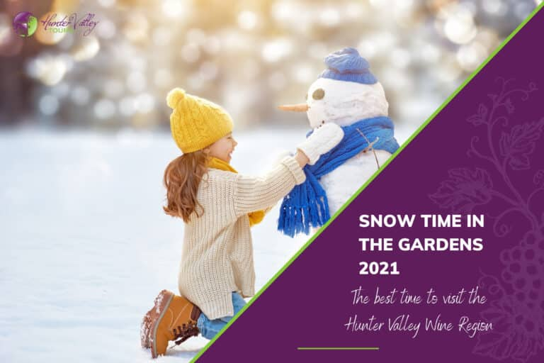Snow Time in the Gardens 2021